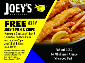 Joey's Restaurant Sherwood Park